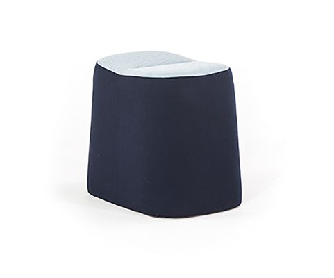 Mote Low Stool Two Tone Fabric A