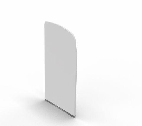 Side Panel For Offimat Single White