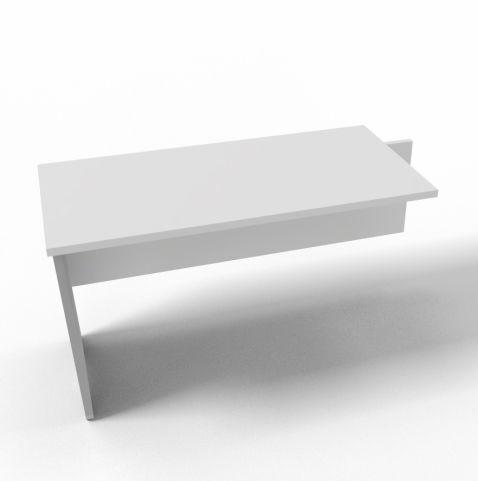 Offimat Desk Return White