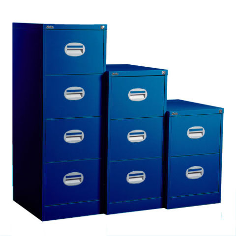 Kontrax Multi Coloured Filing Cabinet Band A Blue