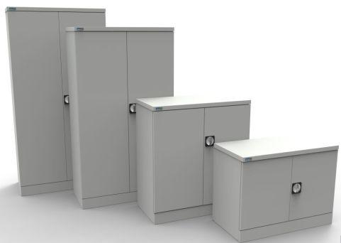 Kontrax Standard Colours Metal Cupboards View
