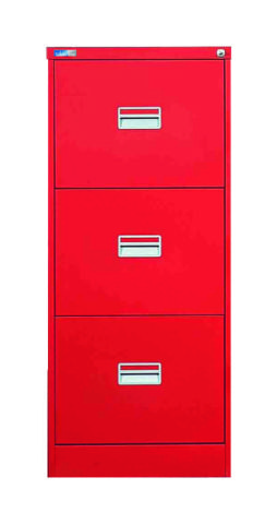 Heavy Duty A3 Jumbo Filing Cabinets Red