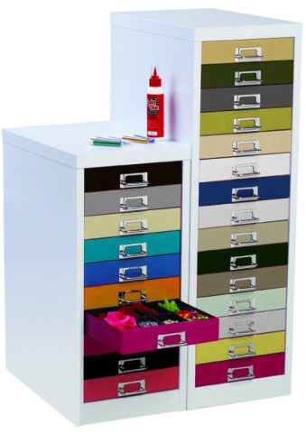 S Line Rainbow Multi Drawer Cabinet