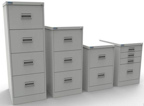 Midi Filing Cabinet Light Grey
