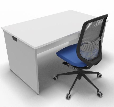 Offimat Rectangular Desk 140mm Chair