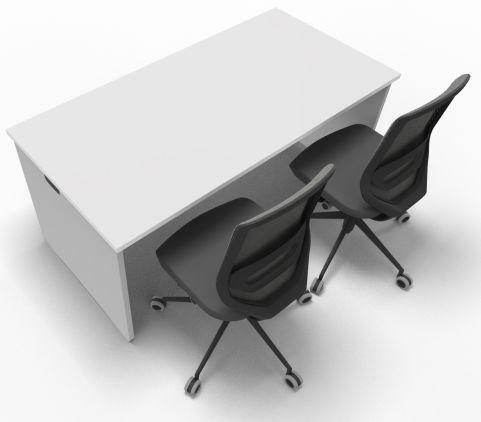Offimat Rectangular Desk 160mm Chair