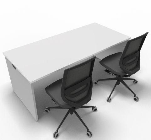 Offimat Rectangular Desk 180mm Chair