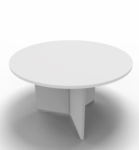 Offimat Round Table White