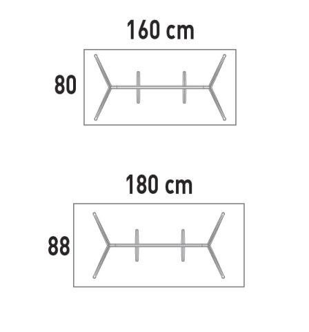 Actiu Individual Desk Dimensions