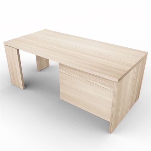 Lithos Presidential Desk In Oak