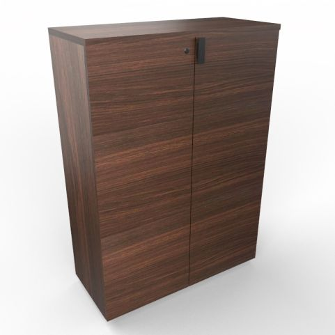 Lithos Executive Cupboard In Dark Oak