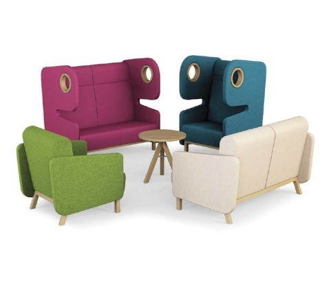 Packman Chairs High Back And Low Back