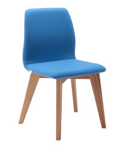 Cave Chair Solid Oak Wood Legs