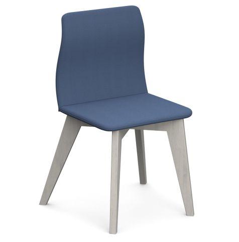 Cave Chairs Solid Oak Wood Legs White Oak