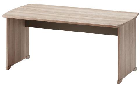 Jazz Rectangular Desk Grey Oak 1600mm
