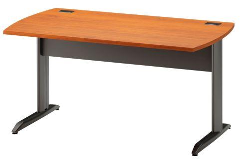 Jazz Desk With Metal Legs Alder 1400mm