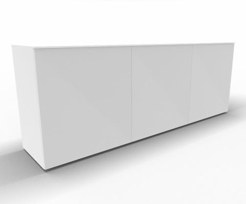 Impuls Cabinet Unit White Glass UNIT