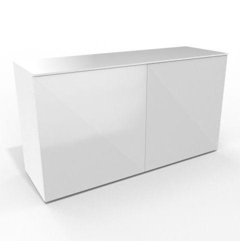 Credenza Unit White Doors