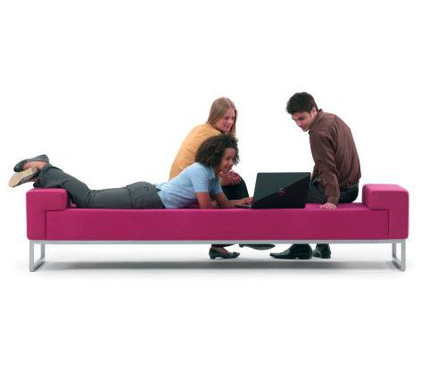 Hub Landscape Seating Bench