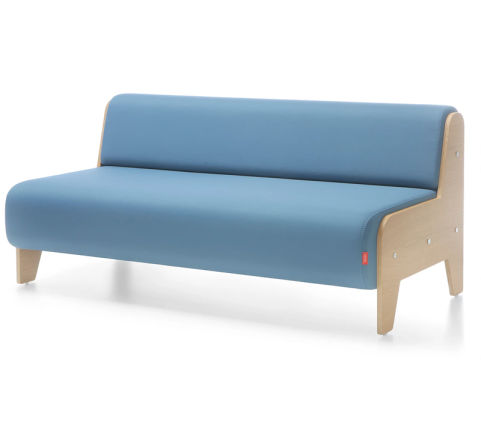 Chill Out Two Seater Sofa Unit Side Profile