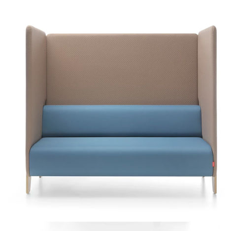 Chill Out 2 Seater Sofa Unit High Sides Screens