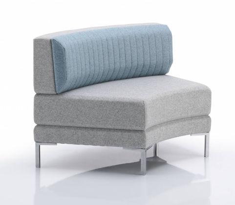 Henray Curve Sofa Low Back
