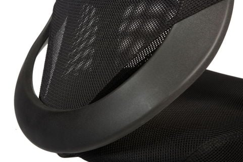 Bisoto Mesh Chair Side View 3