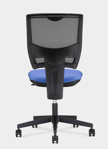 Blue Seat Pad Mesh Back