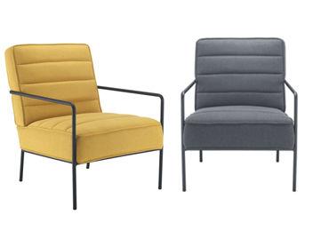 Jade Chair Yellow & Grey
