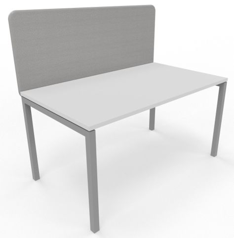 Suttle Acoustic Screen Grey With Desk