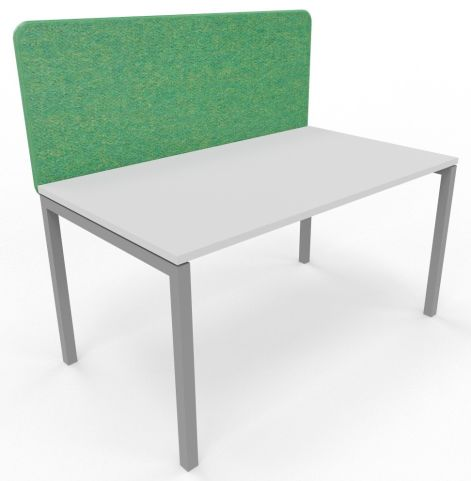 Suttle Acoustic Screen Green With Desk