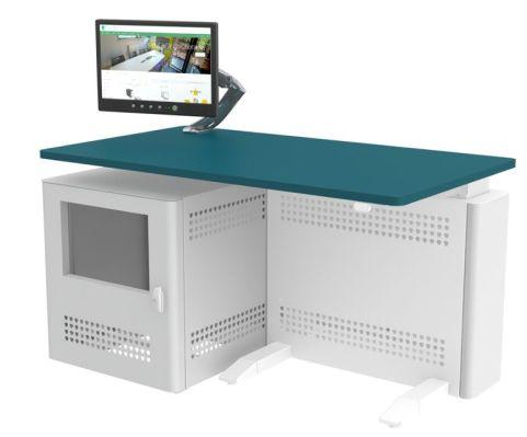Sentio Mono Desk Rear