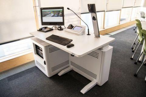 Sentio Desk Mono Office Mood Shot