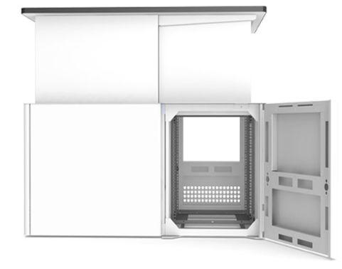Sentio Desk Rear Access