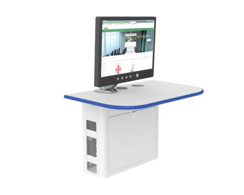 Valty A Wall Mounted Lectern Blue 2