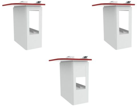 Valty Wall Mounted Lectern Red Door Options