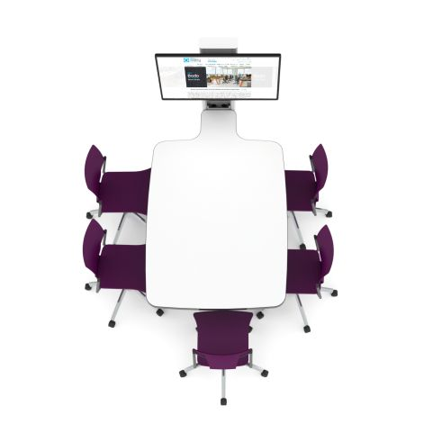 5-seat-#Office-audio-visual-integrated-meeting-table