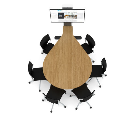 6-seat-audio-visual-teardrop-meeting-table