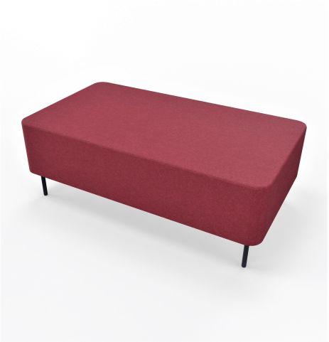 Twin Seater Blazer Fabric Burgundy