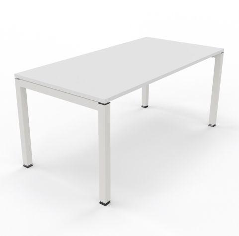 Bralco Bench Unit White Top White Legs