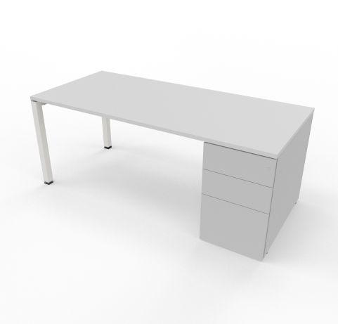 Desk Witrh Pedestal Incorporated