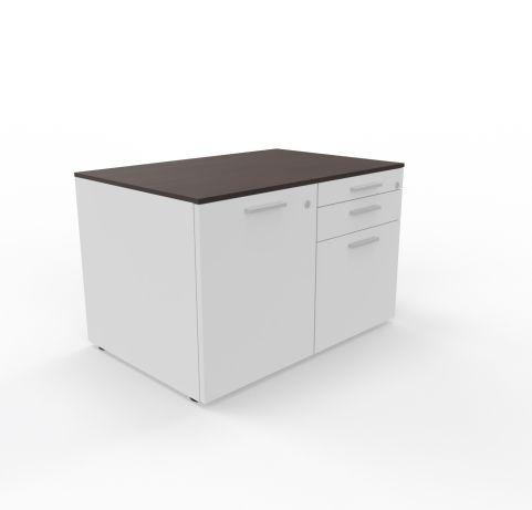 Storage Unit 3 Drawers One Cupboard Unit