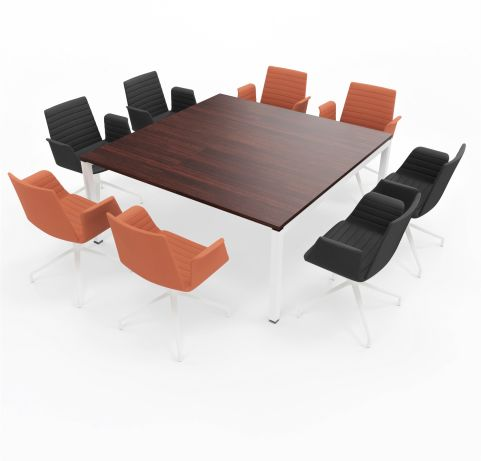 Table Gateway Bralco 1620 X 1620 4 People Wenge