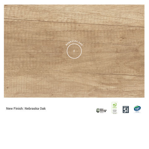 New Finish Nebraska Oak Swatch