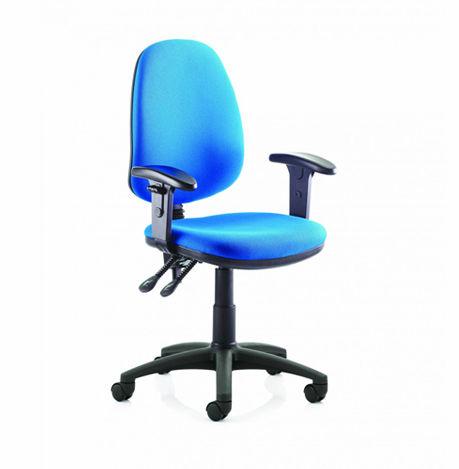 Goal Operator Chair Blue Fabric