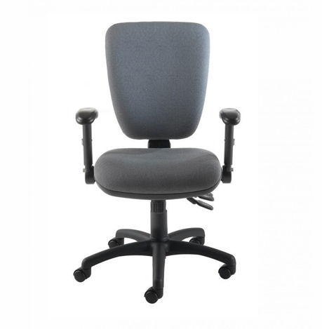 Icon Chair Grey Fabric