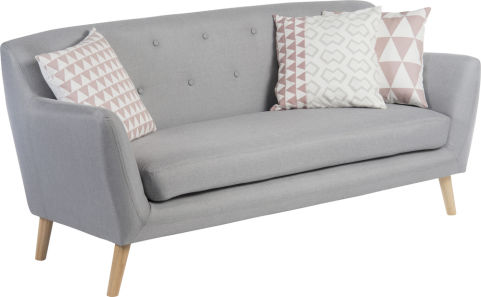Skandi 3 Seater Sofa Office Reality 2