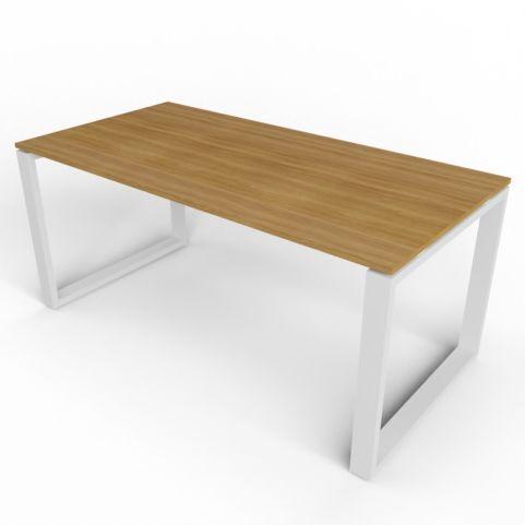 Loop Rectangular Desk With Aluminium Frame