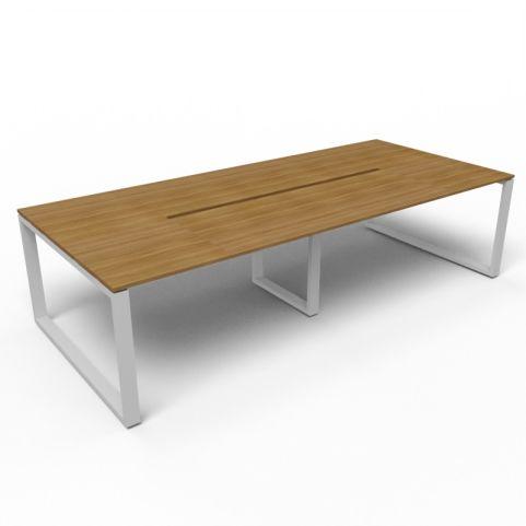 Loop Frame Rectangular Table - Aluminium Frame