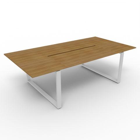 2400mm Loop Frame Table - Aluminium Frame